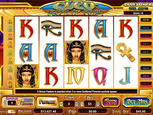 Cleo Queen of Egypt Slots slot game online review