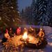 Snowshoe and Bonfire by Mt Hood Adventure by Mt. Hood Territory