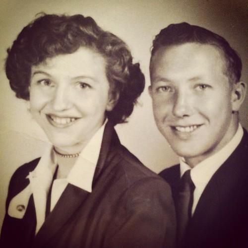Grandmas Photos: joe & barb, 1960