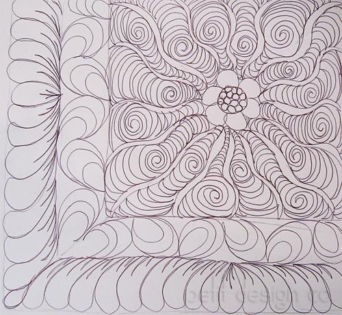quilt doodle