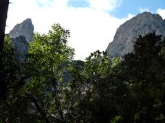 Remontée du Velacu : le Promontoire et Calanca Murata
