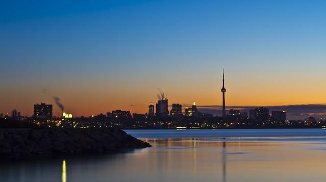 Toronto Morning Glow