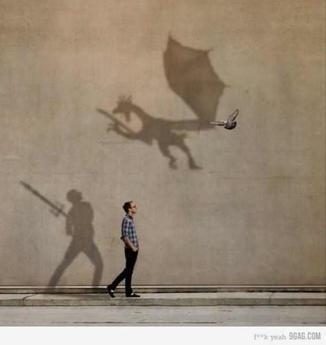 الخيال هو السلاح الوحيد الذي نمتلكه لمواجهة الواقع! by AmrHassaan