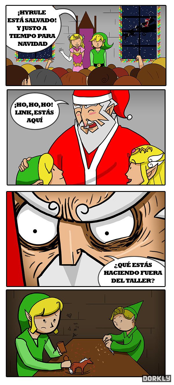 Navidades en Hyrule