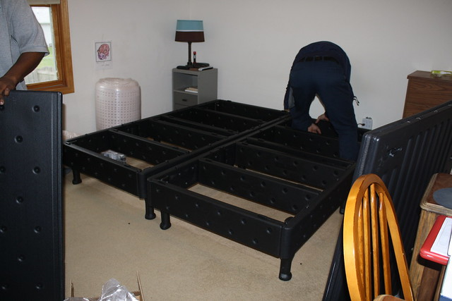 Video Sleep Number Bed Base Assembly