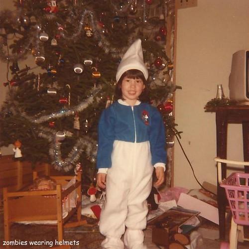 Christmas Smurf Pjs