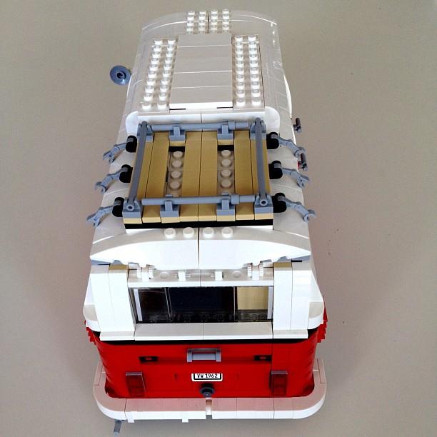 Completed Lego Volkswagen T1 Camper Van