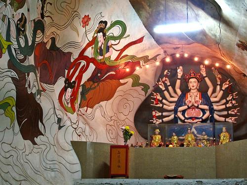 IMG_0061 怡保霹雳洞壁画,Mural from Perak Cave,Ipoh