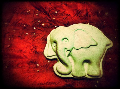195/365- White elephant by elineart