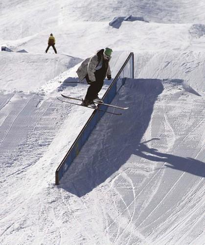 Esquiador freestyle en Vallnord