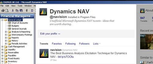 Dynamics NAV @navision