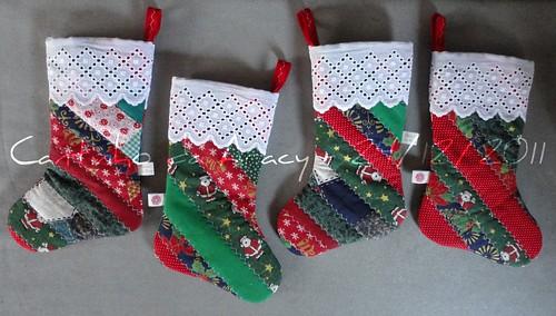 Botas de Natal - presentes para meus manos e famílias by Cantinho da Aracy