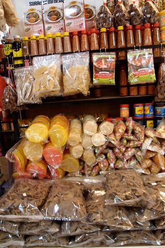 Melaka's Dried Food Stuff