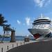 Los cruceros AIDAbella y AIDAsol en el Muelle de Santa Catalina de Las Palmas de Gran Canaria
