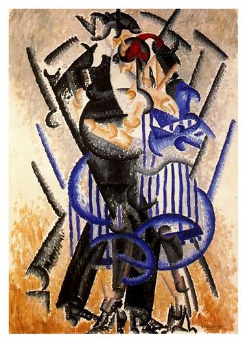 018- La danza del oso en el Moulin Rouge 1913-Gino Severini