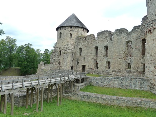 castle stone latvia causeway cesis medievalcastle absolutelystunningscapes