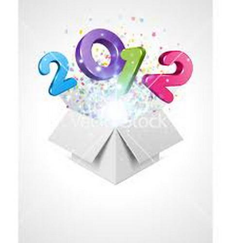 Um Bom 2012 cheio de sorrisos e gargalhadas para todos!!! by sweetfelt \ ideias em feltro
