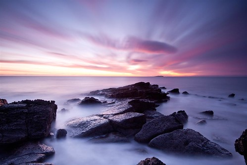 crail sunrise! by tom fincher