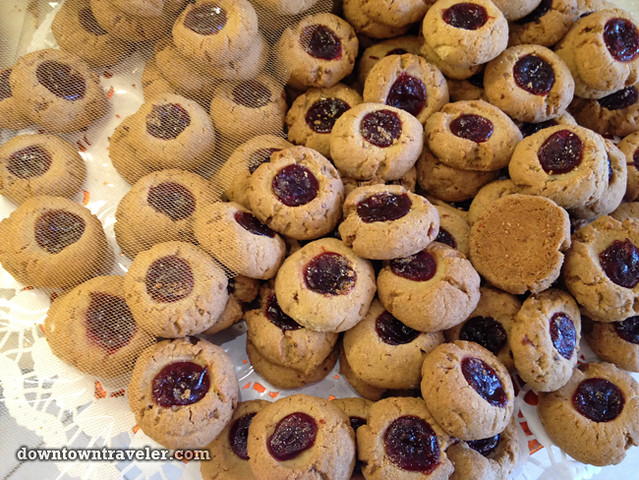 Artopolis Greek bakery in Astoria NYC_jam cookies