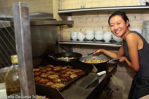 Woks and Lox 12-24-2011 Stella Dacuma Schour - chichi wang