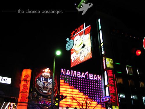 Dotonbori in Namba Osaka
