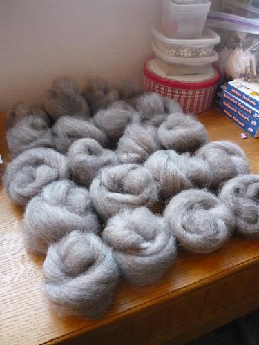 gray mystery wool