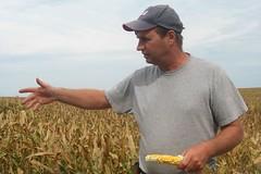 Corn farmer Dave Martz