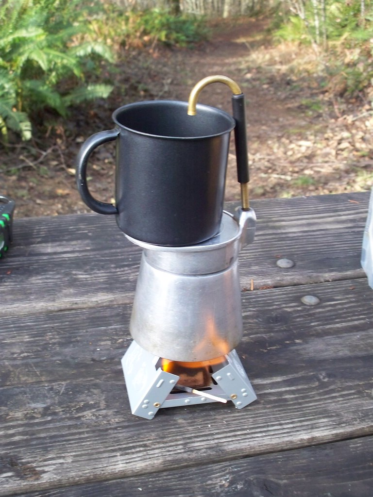 Camping Gear Corner: Esbit Coffee Maker Urban Adventure League