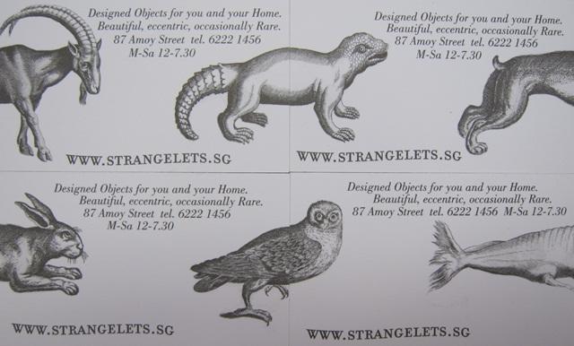 Strangelets Storecards 3