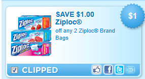 Ziploc Brand Bags Coupon