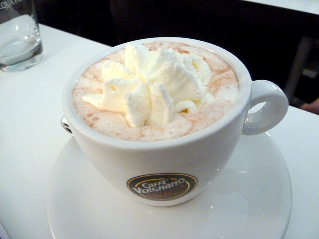 Hot Chocolate with Whipping Cream