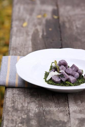 Gnocchi di patate viola