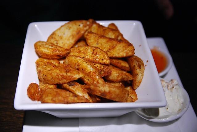 Potato Wedges, Sour Cream, Sweet Chilli Sauce - Strike QV AUD9