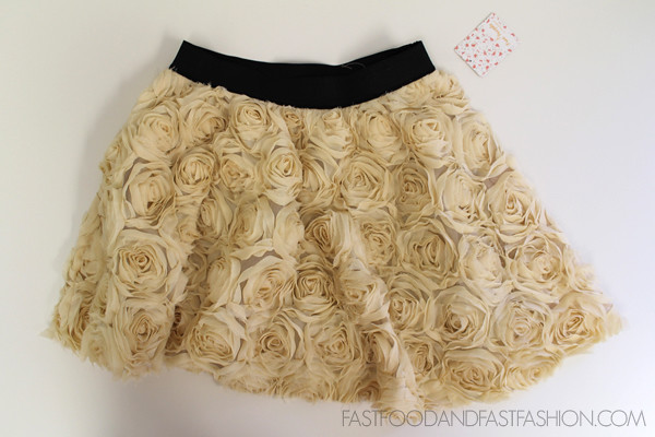 Free People Rosey Holiday Skirt Free People FP Rose Embellished Skirt XS
