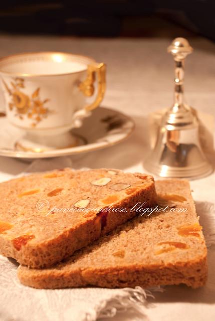 pane albicocche e nocciole