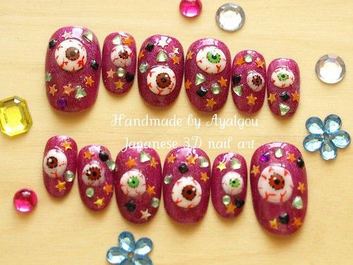 Eye balls nails!
