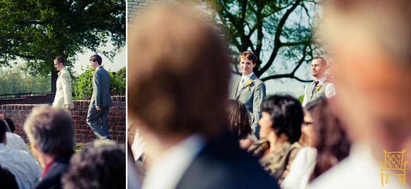 gray and yellow outdoor vintage wedding_049