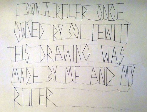 Own a ruler