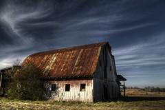Abandoned Barns & House, Virginia