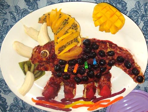 Triceratops Birthday Cake!