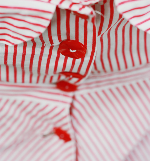 candy stripe 1940s c