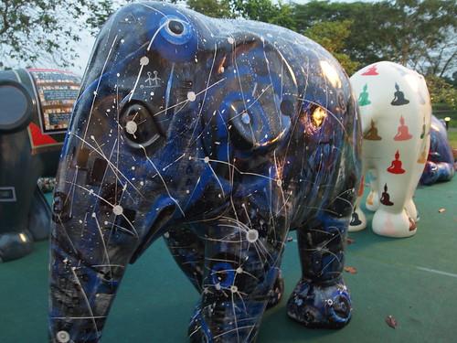 Elephant Day out at Botanic Garden