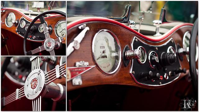 Vintage Car : The TC Classic Car ( Morris Garage ) - 1945