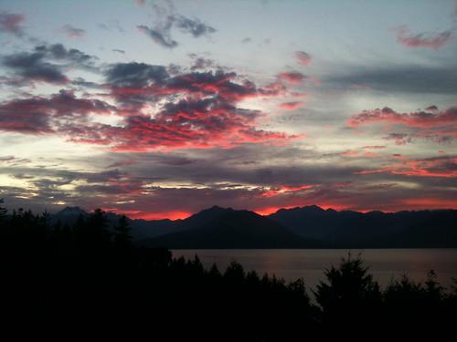seabeck sunset
