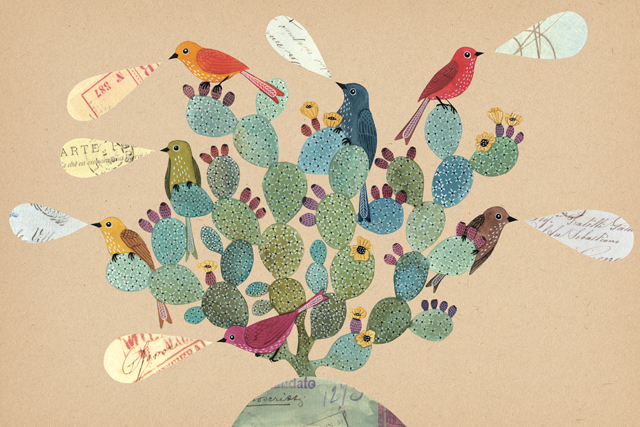opuntia with birds_lo