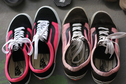 new year, new shoes (pink vans #5)