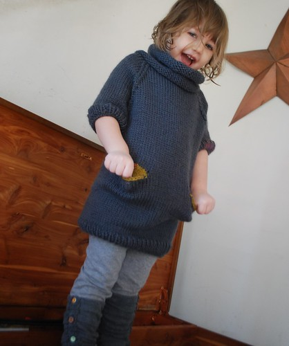 hand knit tunic - small style