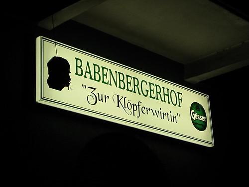 Eingang zum Babenbergerhof