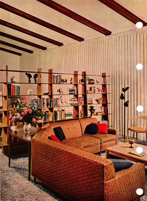 Fantastic room divider - Mid Century Modern | Flickr ...