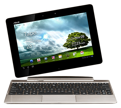 "The 10.1"" tablet comes with a mobile dock with keyboad and touch pad, additional ports and 6 more hours of battery life."